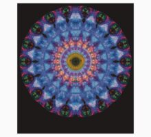 Sacred Crown - Mandala Art By Sharon Cummings One Piece - Long Sleeve