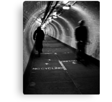 Foot Tunnel Canvas Print