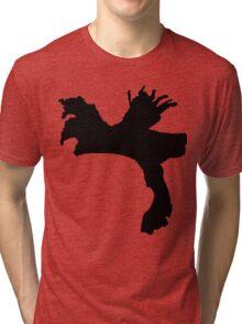 The Weeknd Hair - FRONT Tri-blend T-Shirt