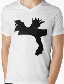 The Weeknd Hair - FRONT Mens V-Neck T-Shirt