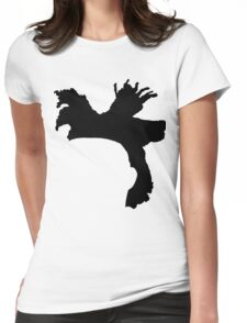 The Weeknd Hair - FRONT Womens Fitted T-Shirt
