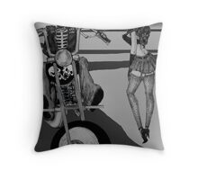 hey baby Throw Pillow
