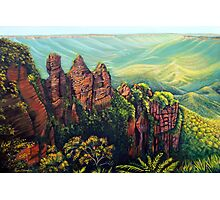 Timeless, Blue Mountains Photographic Print