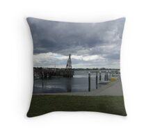 Port Albert -Victoria Throw Pillow