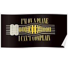 Nirvana ~ On A Plane Lyrics Guitar Design Poster