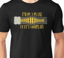 Nirvana ~ On A Plane Lyrics Guitar Design Unisex T-Shirt