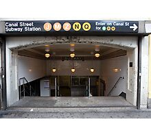 Canal Street Station Photographic Print
