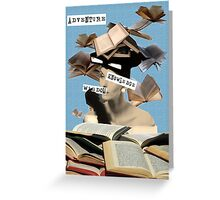 Book knowledge Greeting Card