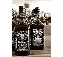 Two Bottles of Whiskey...  Photographic Print
