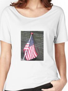 Flag For Fallen Soldier Women's Relaxed Fit T-Shirt