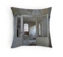 Dormitory, fancy a stay? Throw Pillow