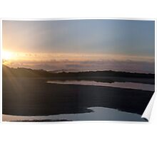 Sunrise over Wilson Inlet Mouth Poster