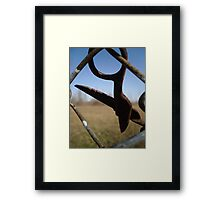 Papa's Scissors Framed Print