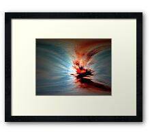 Colour Of Life,colour of time 1989 Framed Print