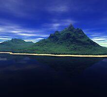 reflective scene by Cheryl Dunning