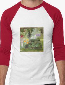 Hall's Pond Sanctuary Garden Men's Baseball ¾ T-Shirt