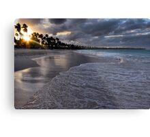 Caribbean Sunset Metal Print