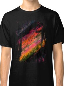 psychedelic flames Classic T-Shirt