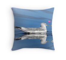 Shake A Tail Feather Throw Pillow