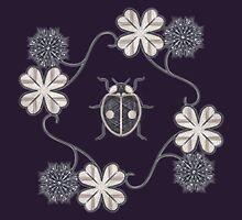 LadyBug Clovers - Chrome by Sunflow