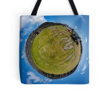 Fortified Ball - Inside Dun Aengus stone fort Tote Bag