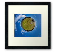 Fortified Ball - Inside Dun Aengus stone fort Framed Print