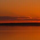 Fredrickhouse Lake Sunset by Christopher Clark