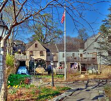 Jenney Grist Mill by Monica M. Scanlan