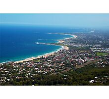 Northern Illawarra Beaches Photographic Print