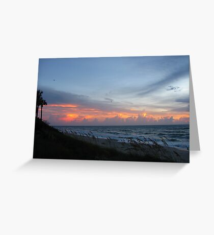 Floridian Sunrise Greeting Card