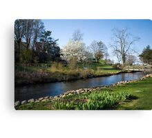 Glorious New England Spring Day Canvas Print