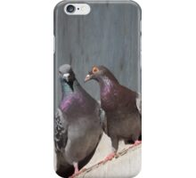Standing On One Leg iPhone Case/Skin