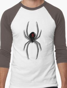 Black Widow Men's Baseball ¾ T-Shirt