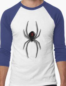 Black Widow Men's Baseball ¾ T-Shirt
