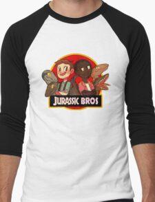 Jurassic Bros Men's Baseball ¾ T-Shirt