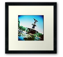 Bethesda Angel, Central Park Framed Print