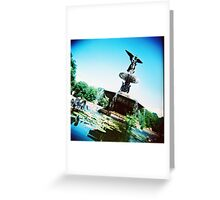 Bethesda Angel, Central Park Greeting Card