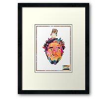 J.Cole - Born Sinner (Tye Dye) Framed Print