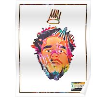 J.Cole - Born Sinner (Tye Dye) Poster