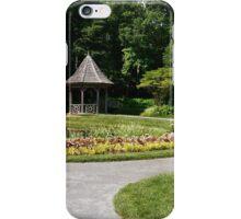 Gazebo in the gardens iPhone Case/Skin