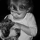 kitten cuddles by mummatotwo