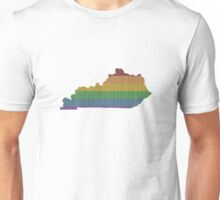 Kentucky Rainbow Gay Pride Unisex T-Shirt