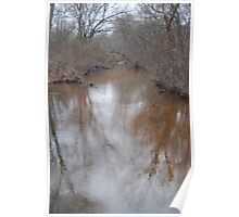 Reflections of the sky - Bethpage Park Poster