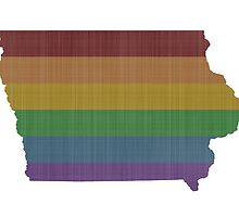 Iowa Rainbow Gay Pride by surgedesigns