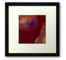 'LIFE' Sensuous Egypt #2, 'Time Machine of the Heart' Framed Print