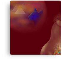 'LIFE' Sensuous Egypt #2, 'Time Machine of the Heart' Canvas Print