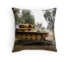 Iraqi Army Scout Tank Throw Pillow