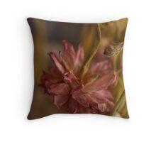 Dry Flower Throw Pillow