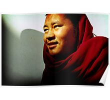 tibetan monk, India Poster