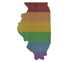 Illinois Rainbow Gay Pride by surgedesigns